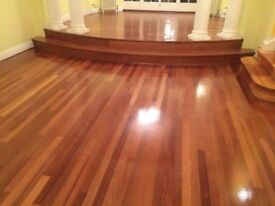 Professional floor sanding and fitting