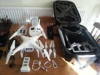 DJI Phantom 3 Professional 4K, Drone, Including Quality Hardcase Backpack, 64GB SDI Storage Card