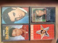 ELVIS Presley 4 pre-recorded Cassette tapes. Collectors Items