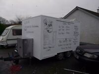 Catering trailer / burger van with extras