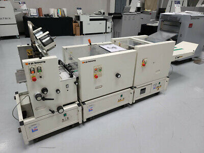 Bourg Booklet Maker T-series Hand-feed Or In-line Wbst Agr Pa Tr