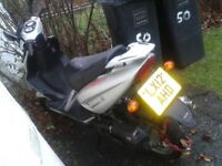 It's a direct bike working fine, registered as a 50cc but is a 70cc