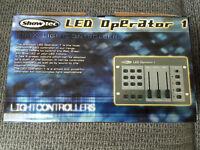 Brand new Showtec LED Operator 1 DMX light contoller BNIB