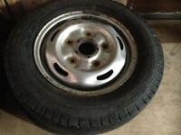 Ford transit steel wheels and tyres