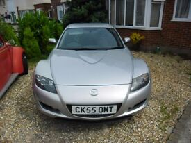 mazda rx8 for spare or repairs mot oct 60k blocked cat