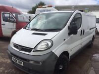 Vauxhall Vivaro 1.9 cdti diesel 5 sped gearbox - Parts Available