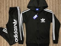 Brand New With Tags Ladies Adidas Black Slim Fit Tracksuits £35 Each All Sizes