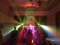 MOBILE DISCO WITH LASER LIGHTING AND BOX TRAILER