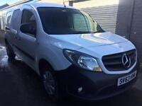 SALE! Bargain mercedes Citan 1.5 xlwb, NO VAT! long MOT full service history
