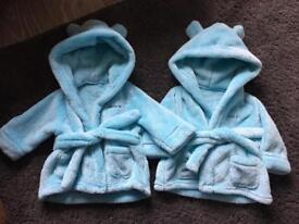 Twin dressing gowns