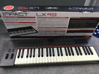 Nektar Impact LX49 Midi Controller Keyboard - Boxed Good Cond.