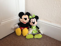Mickey Mouse movie soft toys