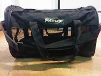 Petmate soft sided kennel cab pet carrier medium black