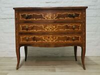 Italian Inlaid Chest Of Drawers (DELIVERY AVAILABLE FOR THIS ITEM OF FURNITURE)