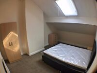All inclusive double bedroom available NOW by STREET LANE - Furnished!