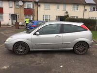 ford focus st 170,2002,silver,no mot,£500,no offers