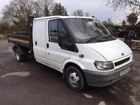 2005 05 ford transit 135 6 speed crewcab tipper no vat