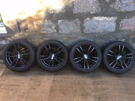 "17"" Dunlop Winter Sport 3D - BMW 1 series F20 F21 (2012 - present) winter wheels & runflat tyres"