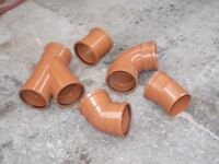 UNDERGROUND DRAINAGE BENDS/JUNCTIONS