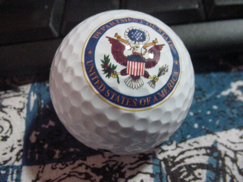 lot of 3  US Department of state  golf balls