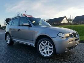 SORRY NOW SOLD!! 2007 (LCI FACELIFT) BMW X3 M Sport 2.0d 4x4!! ONLY 56000 MILES!!