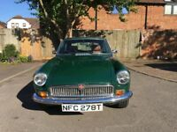 1978 MG B GT - Racing Green