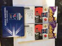 NFL twickenham tickets X2 vikings vs browns