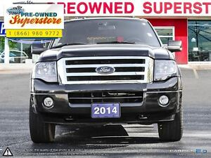 2014 Ford Expedition Limited>>>Captains' chairs & NAV<<< Windsor Region Ontario image 2