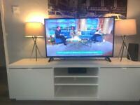 IKEA TV Stand - White gloss