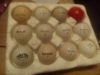 Collectable /Vintage/Golf Balls....