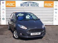 Ford Fiesta ZETEC (£30.00 ROAD TAX) FREE MOT'S AS LONG AS YOU OWN THE CAR!!! (grey) 2014