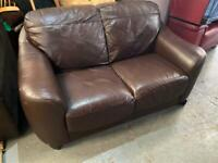 REAL GOOD QUALITY LEATHER SOFA 2 SEATER