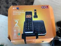 BT Xenon 1500 twin phone and answer machine