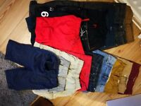 Boys jeans, chinos & shorts age 10-12 yrs