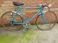 Raleigh arena GT road racer touring bike bicycle