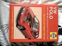 Haynes manual vw polo Land Rover freelander