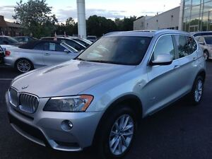 2013 BMW X3 4X4 , XDRIVE, CUIR ,NAVIGATION, GPS, PANORAMIQUE
