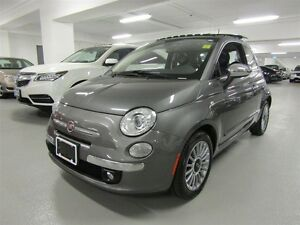 2013 Fiat 500 LOUNGE, NAVI, LEATHER, P-ROOF
