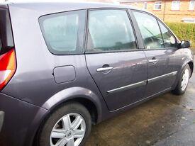 2005 renault scenic 1.9 diesel 7 seater spares or repair