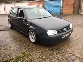 2003 VW Golf 1.6 with 1.8T Engine, Air Ride, Show Car, Modified