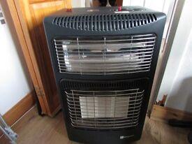 calor gas heater combi electric