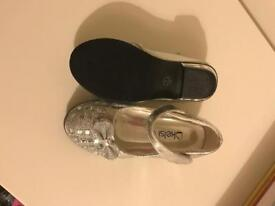 Girls party shoes size 7