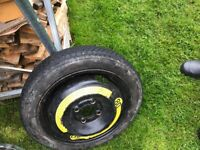 Vw spare wheel PCD 4x100 Wheel Rims & Tyres in Southside Wheel Rims & Tyres