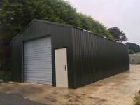 20x40 steel shed