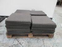 USED GREY CARPET FLOOR TILES 40p EACH