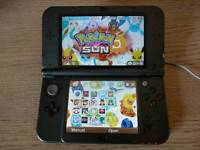 Nintendo New 3DS XL console and 18 games