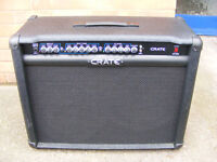 Crate GT212 guitar combo amplifier and footswitch