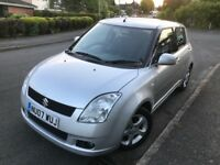 Suzuki Swift 07 plate, Good Condition, Long MOT, FSH Lady Owner....Bargain, Leicester