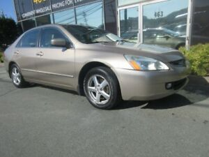 2005 Honda Accord 2.4L SEDAN W/ ALLOYS LEATHER HEATED SEATS SUNR