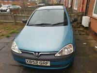 2001 vauxhall corsa reduced price for sale - Read description